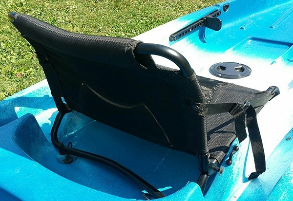 Ascend d10t kayak seat upgrade plugged scupper holes