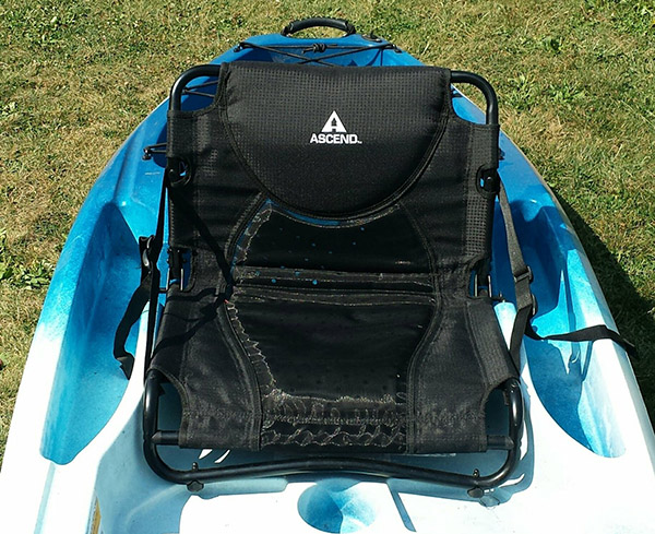 Ascend d10t kayak seat upgrade works