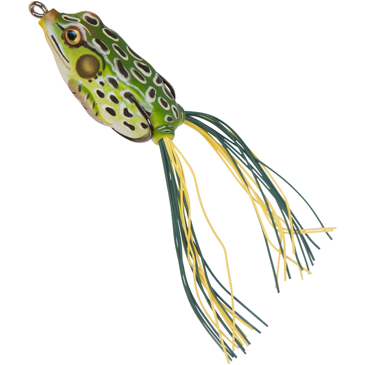 livetarget hollow body frog bass lures