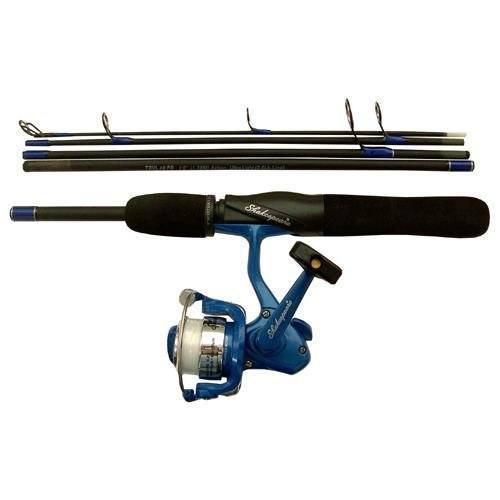 best ultralight backpacking gear - shakespeare travel mate pack fishing rod