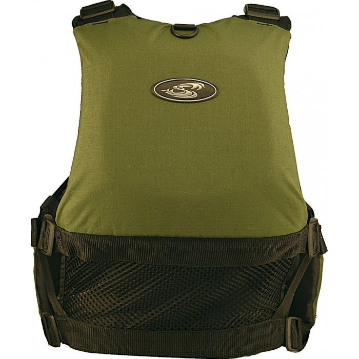 stohlquist fisherman pfd back