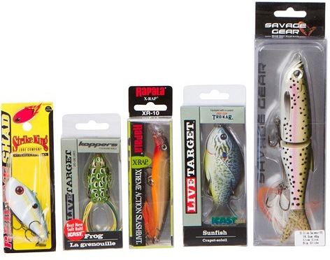 bass lures
