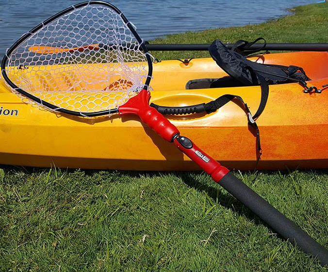 EGO S2 Slider Landing Net in adtion