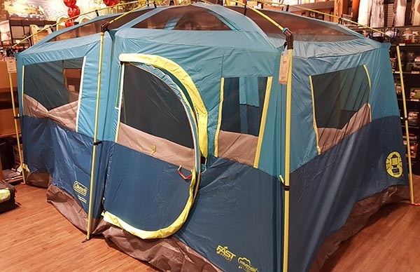 coleman tenaya lake tent in the store