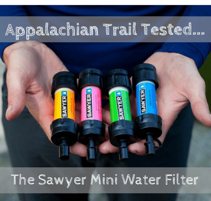 Sawyer Mini Water Filter, Appalachian Trail Tested!
