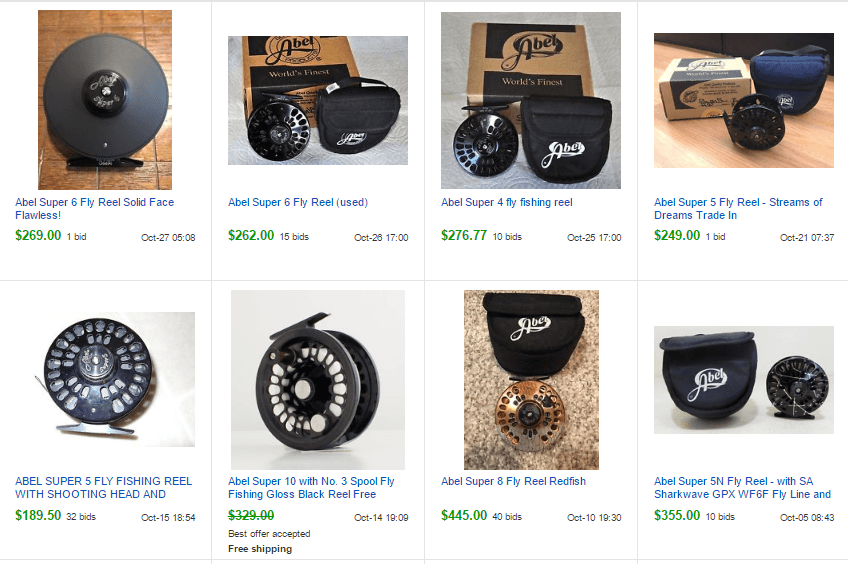 fly reels on ebay