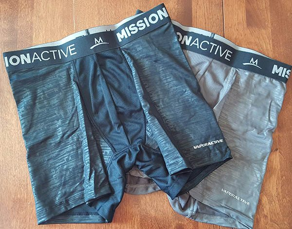 vaporactive underwear out of the box