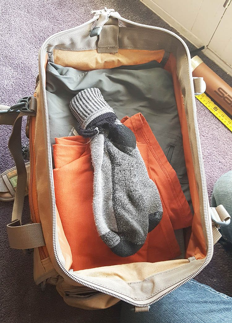 fishpond bighorn clothes packed