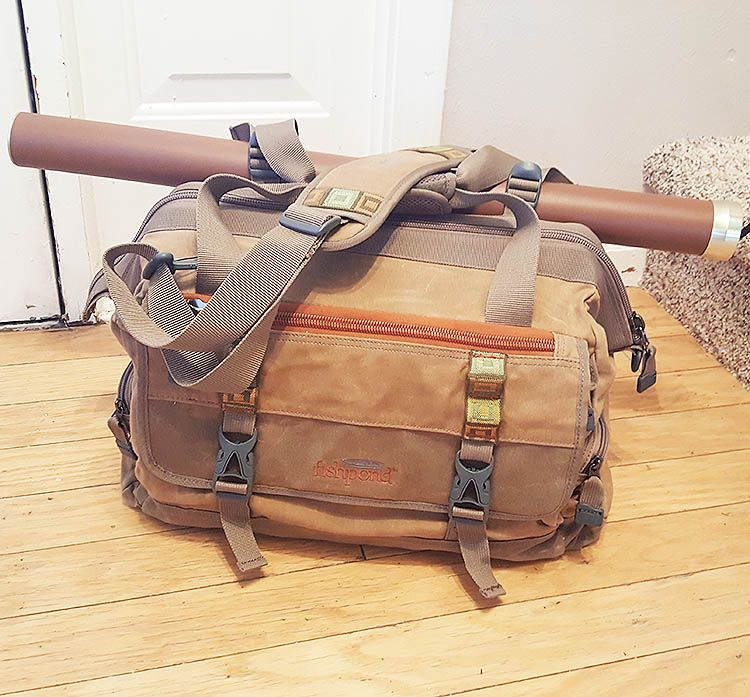 Fishpond Bighorn Kit Bag. The AWOL Bag for Fly Fishermen.