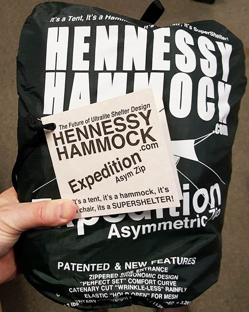 hennessy expedition asym zip in the pouch
